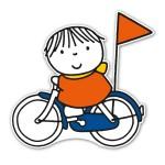 Silhouet-fietsen